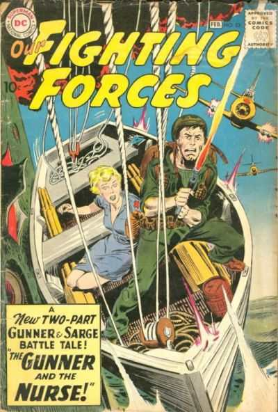Our Fighting Forces #53 comic books - cover scans photos Our Fighting Forces #53 comic books - covers, picture gallery