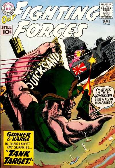 Our Fighting Forces #60 comic books - cover scans photos Our Fighting Forces #60 comic books - covers, picture gallery