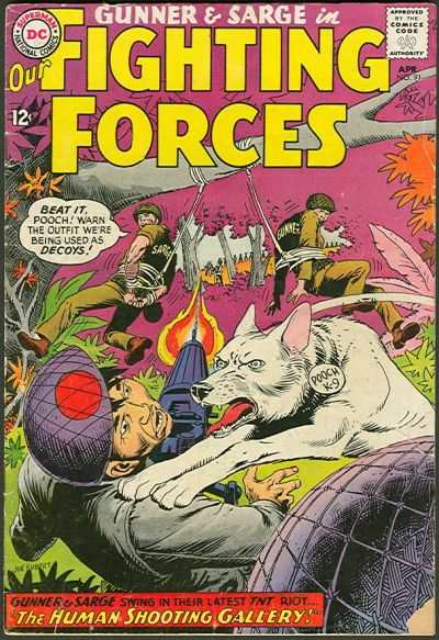 Our Fighting Forces #91 comic books - cover scans photos Our Fighting Forces #91 comic books - covers, picture gallery