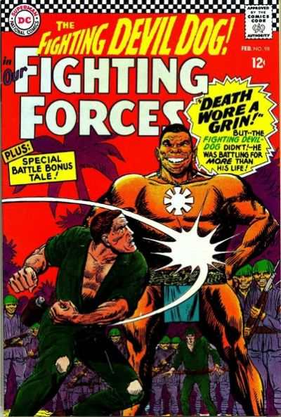 Our Fighting Forces #98 comic books - cover scans photos Our Fighting Forces #98 comic books - covers, picture gallery