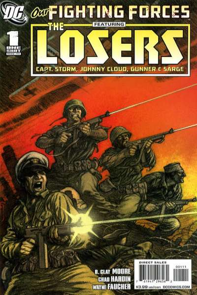 Our Fighting Forces #1 comic books - cover scans photos Our Fighting Forces #1 comic books - covers, picture gallery