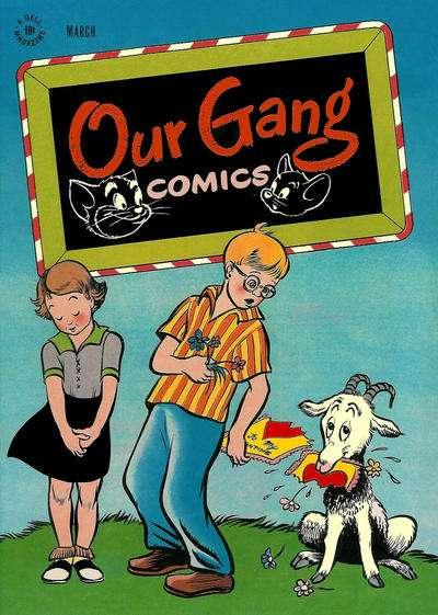 Our Gang Comics #32 Comic Books - Covers, Scans, Photos  in Our Gang Comics Comic Books - Covers, Scans, Gallery