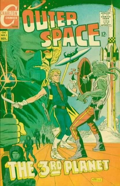 Outer Space comic books