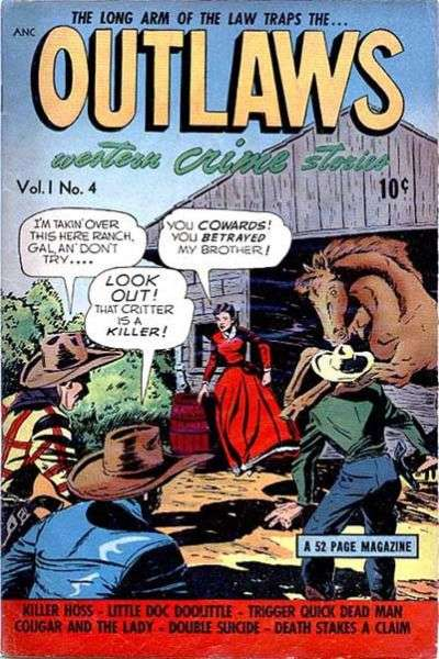 Outlaws #4 Comic Books - Covers, Scans, Photos  in Outlaws Comic Books - Covers, Scans, Gallery