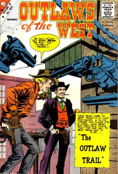 Outlaws of the West #22 comic books for sale