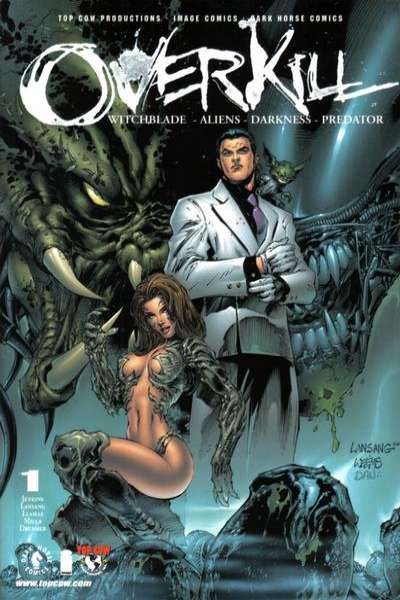 Overkill: Witchblade / Aliens / Darkness / Predator comic books