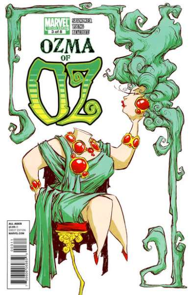 Ozma of Oz #3 Comic Books - Covers, Scans, Photos  in Ozma of Oz Comic Books - Covers, Scans, Gallery