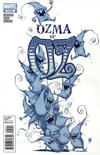 Ozma of Oz #5 comic books - cover scans photos Ozma of Oz #5 comic books - covers, picture gallery