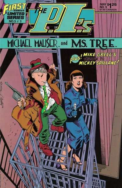 P.I.'s: Michael Mauser and Ms. Tree #3 comic books - cover scans photos P.I.'s: Michael Mauser and Ms. Tree #3 comic books - covers, picture gallery