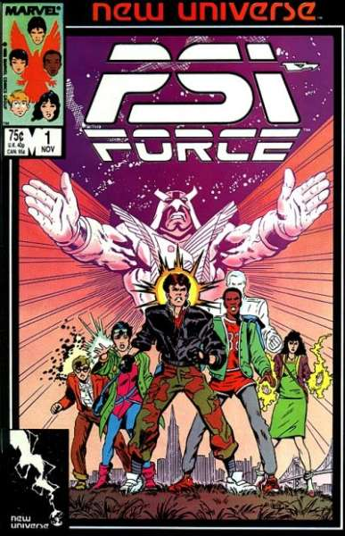 PSI-Force comic books