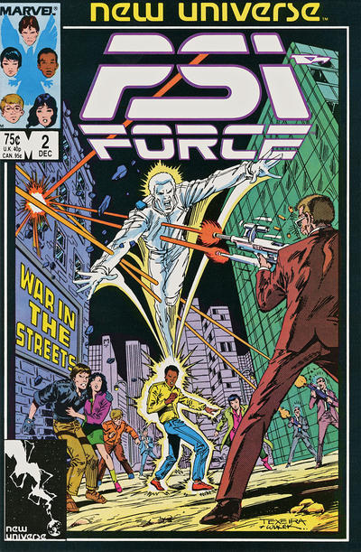 PSI-Force #2 comic books for sale