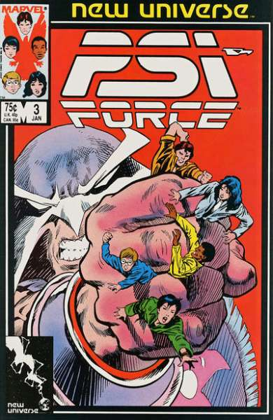 PSI-Force #3 Comic Books - Covers, Scans, Photos  in PSI-Force Comic Books - Covers, Scans, Gallery