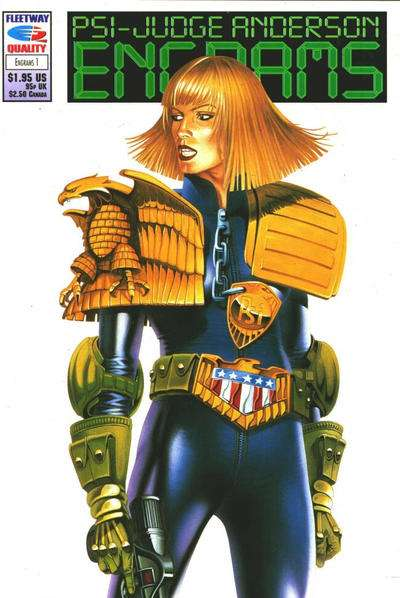 PSI-Judge Anderson: Engrams #1 comic books - cover scans photos PSI-Judge Anderson: Engrams #1 comic books - covers, picture gallery