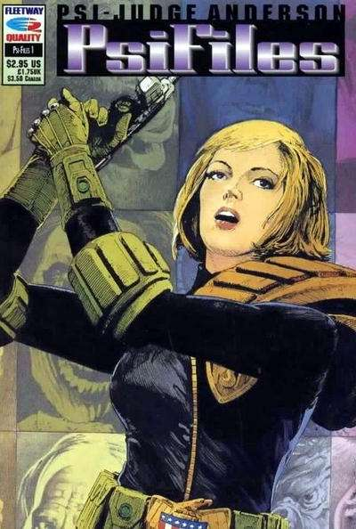 PSI-Judge Anderson: Psi-Files #1 comic books - cover scans photos PSI-Judge Anderson: Psi-Files #1 comic books - covers, picture gallery
