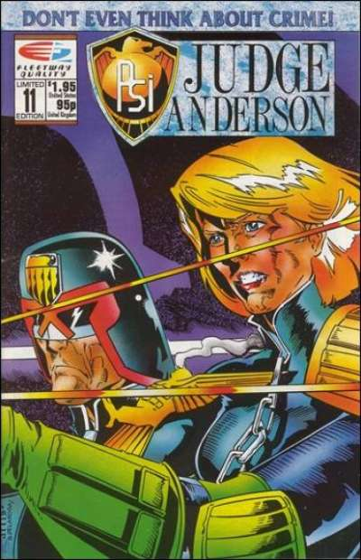 PSI-Judge Anderson #11 comic books for sale