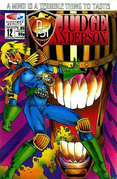 PSI-Judge Anderson #12 comic books for sale