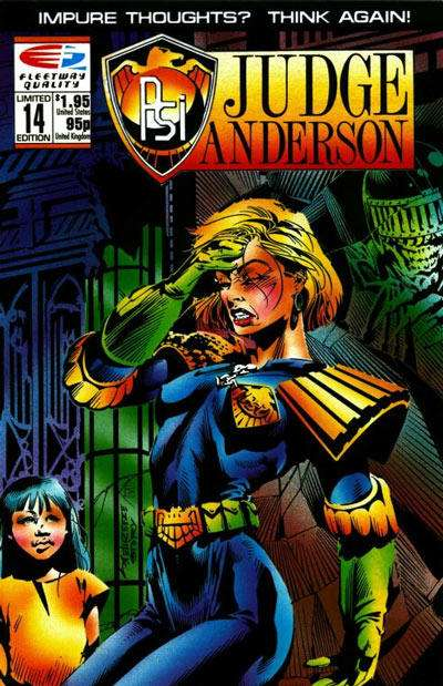 PSI-Judge Anderson #14 comic books for sale
