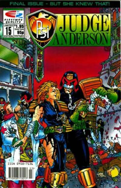 PSI-Judge Anderson #15 comic books for sale