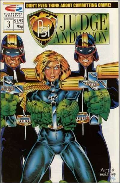 PSI-Judge Anderson #3 comic books for sale
