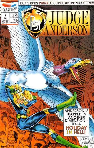 PSI-Judge Anderson #4 comic books for sale