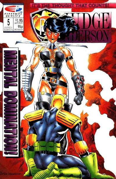 PSI-Judge Anderson #5 comic books for sale