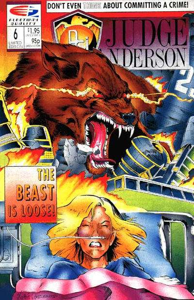PSI-Judge Anderson #6 comic books for sale