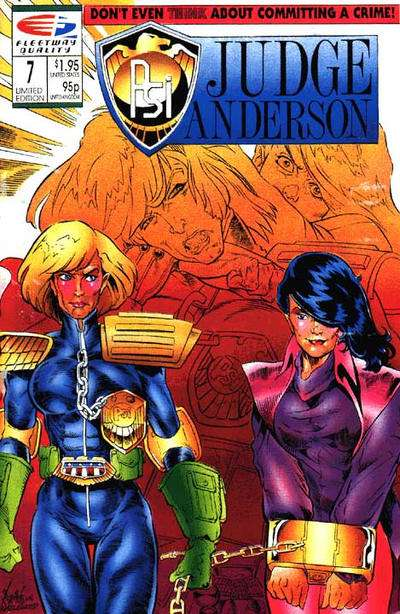 PSI-Judge Anderson #7 comic books for sale
