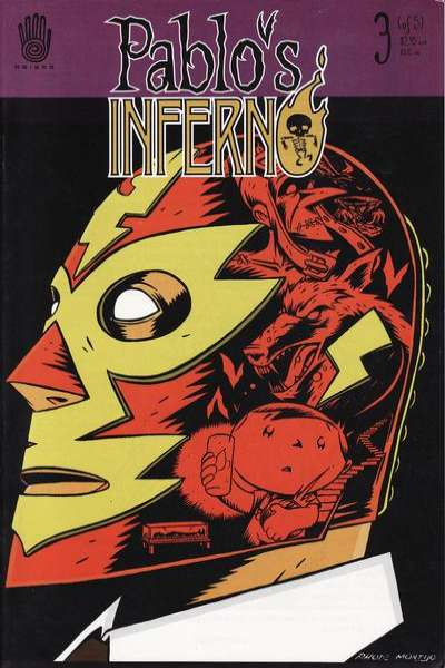 Pablo's Inferno #3 Comic Books - Covers, Scans, Photos  in Pablo's Inferno Comic Books - Covers, Scans, Gallery