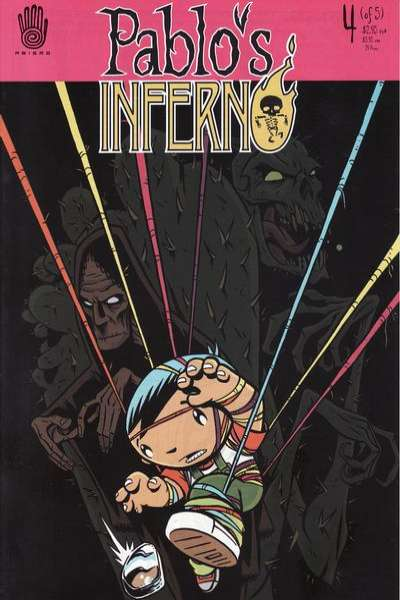 Pablo's Inferno #4 comic books - cover scans photos Pablo's Inferno #4 comic books - covers, picture gallery