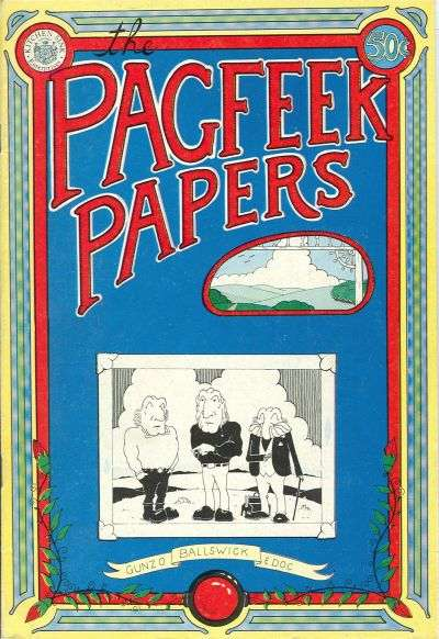 Pagfeek Papers Comic Books. Pagfeek Papers Comics.