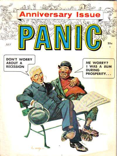 Panic comic books