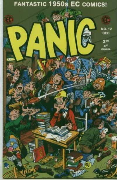 Panic #12 Comic Books - Covers, Scans, Photos  in Panic Comic Books - Covers, Scans, Gallery