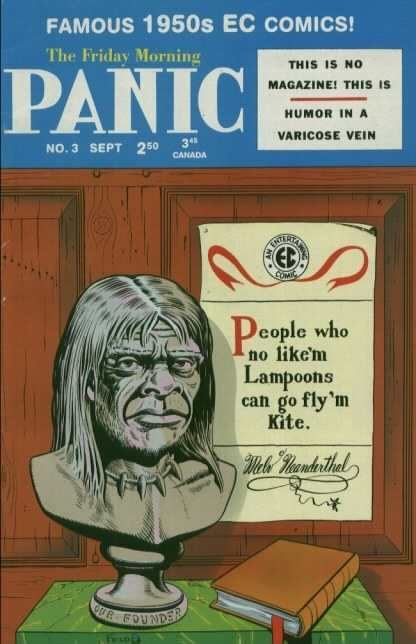 Panic #3 Comic Books - Covers, Scans, Photos  in Panic Comic Books - Covers, Scans, Gallery