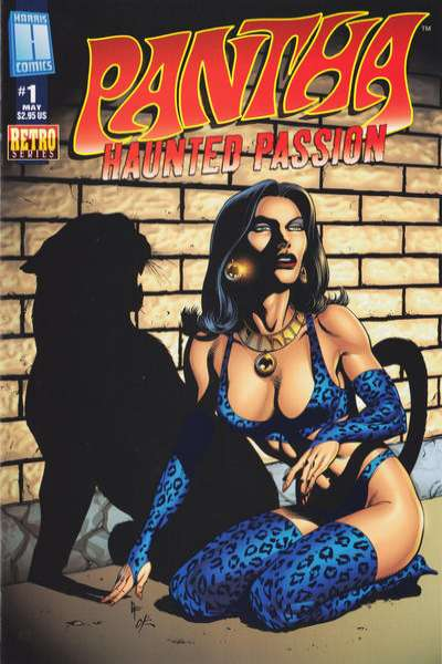 Pantha: Haunted Passion comic books