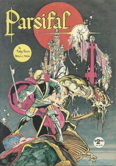 Parsifal #1 comic books - cover scans photos Parsifal #1 comic books - covers, picture gallery