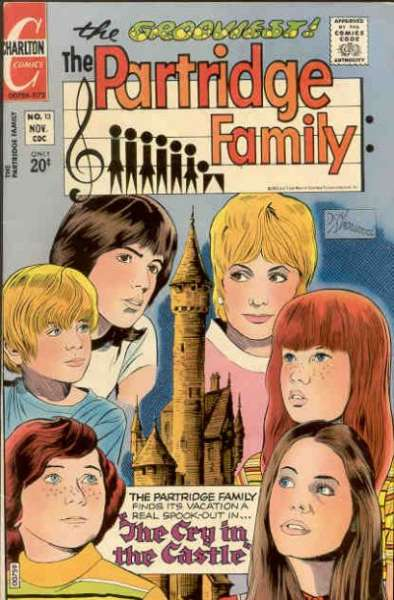 Partridge Family #13 Comic Books - Covers, Scans, Photos  in Partridge Family Comic Books - Covers, Scans, Gallery