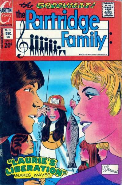 Partridge Family #14 Comic Books - Covers, Scans, Photos  in Partridge Family Comic Books - Covers, Scans, Gallery