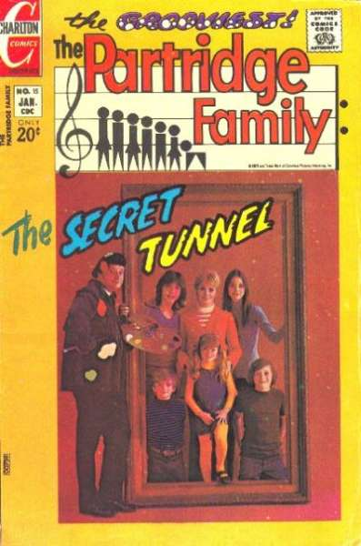 Partridge Family #15 Comic Books - Covers, Scans, Photos  in Partridge Family Comic Books - Covers, Scans, Gallery