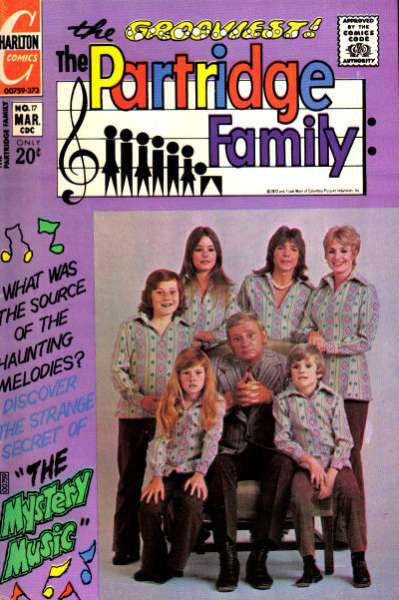 Partridge Family #17 Comic Books - Covers, Scans, Photos  in Partridge Family Comic Books - Covers, Scans, Gallery