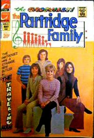 Partridge Family #18 Comic Books - Covers, Scans, Photos  in Partridge Family Comic Books - Covers, Scans, Gallery