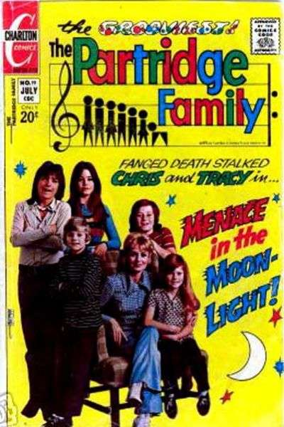 Partridge Family #19 Comic Books - Covers, Scans, Photos  in Partridge Family Comic Books - Covers, Scans, Gallery