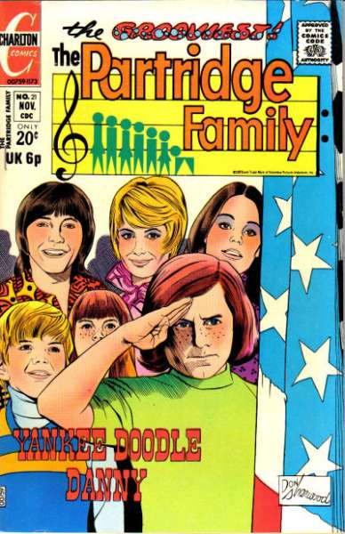 Partridge Family #21 Comic Books - Covers, Scans, Photos  in Partridge Family Comic Books - Covers, Scans, Gallery