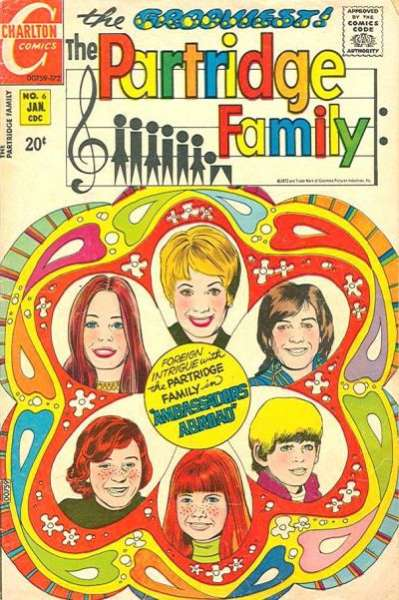 Partridge Family #6 Comic Books - Covers, Scans, Photos  in Partridge Family Comic Books - Covers, Scans, Gallery