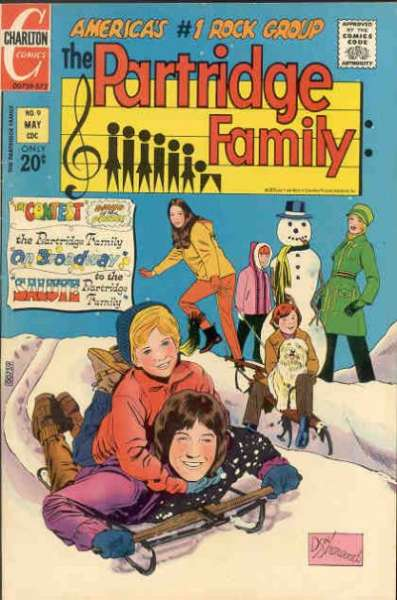 Partridge Family #9 Comic Books - Covers, Scans, Photos  in Partridge Family Comic Books - Covers, Scans, Gallery
