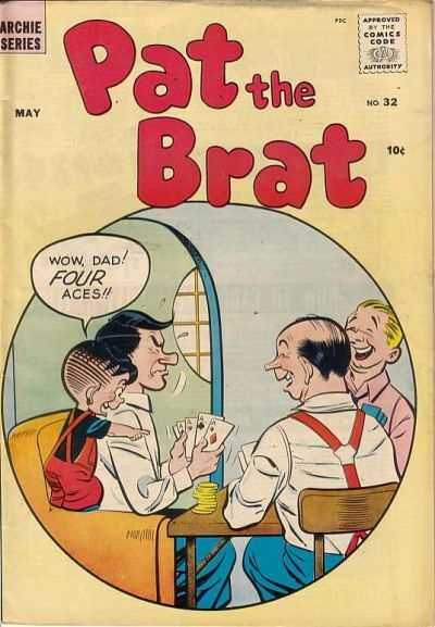Pat The Brat #32 Comic Books - Covers, Scans, Photos  in Pat The Brat Comic Books - Covers, Scans, Gallery