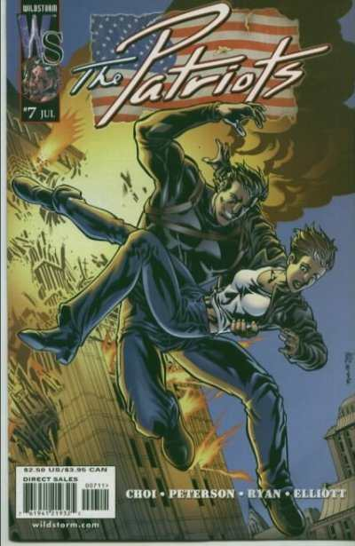 Patriots #7 comic books - cover scans photos Patriots #7 comic books - covers, picture gallery
