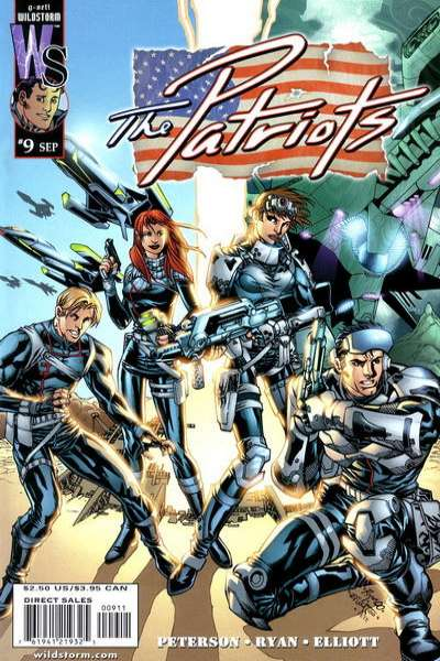 Patriots #9 comic books for sale