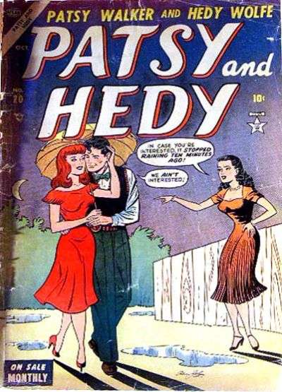Patsy & Hedy #20 comic books - cover scans photos Patsy & Hedy #20 comic books - covers, picture gallery
