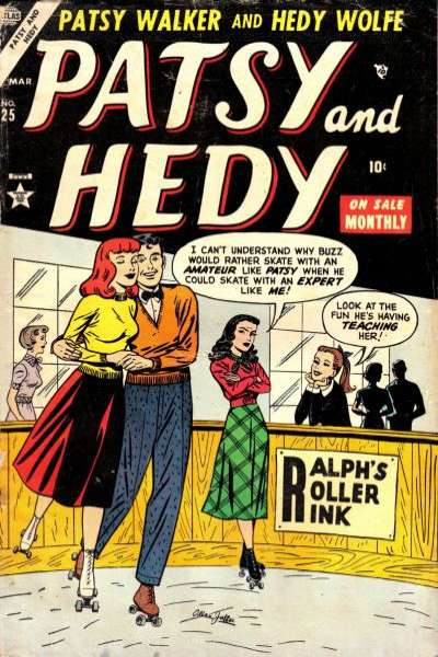 Patsy & Hedy #25 comic books - cover scans photos Patsy & Hedy #25 comic books - covers, picture gallery