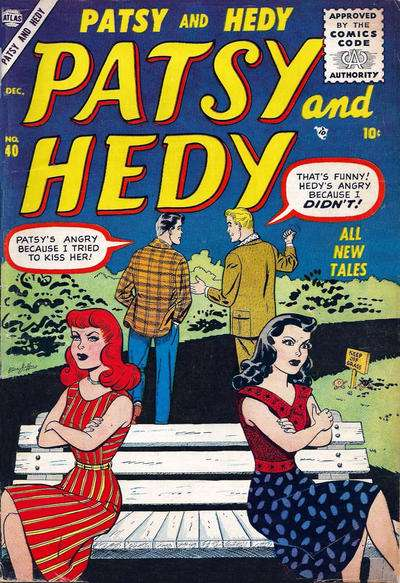 Patsy & Hedy #40 comic books for sale